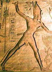 Ramsés II con maza