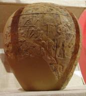 Cabeza de maza ceremonial del faraón Horus Escorpión II