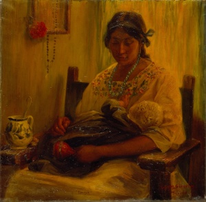 Germán_Gedovius_-_Woman_from_Tehuantepec_-_Google_Art_Project