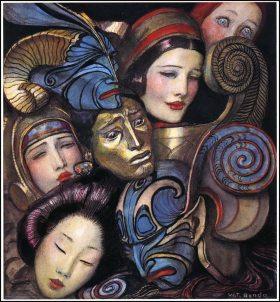 Máscaras de Wladyslaw Theodor Benda